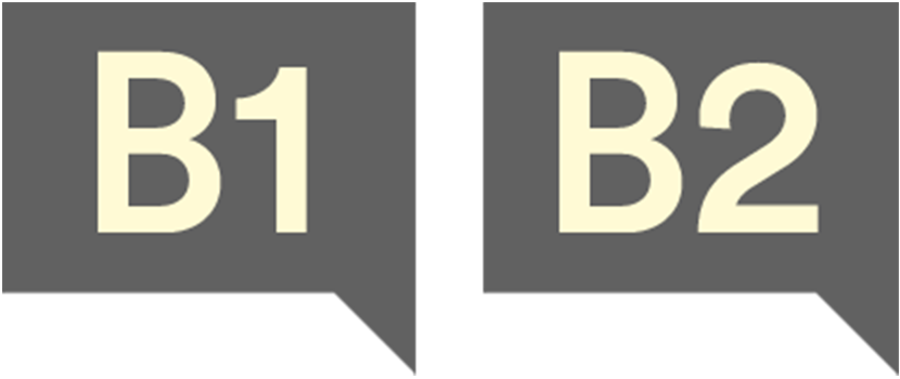 Acadèmia d'idiomes Barcelona, nivell B1 i B2